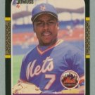 1987 Donruss # 599 Kevin Mitchell RC Mets Rookie