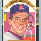 1987 Donruss Diamond Kings # 1 Wally Joyner Angels