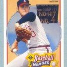 1991 UD Baseball Heroes # 12 Nolan Ryan HOF Mets Angels