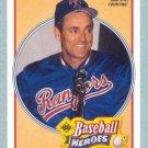 1991 UD Baseball Heroes # 17 Nolan Ryan HOF Mets Angels