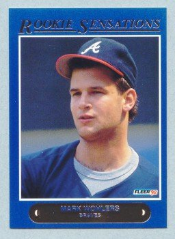 1992 Fleer Rookie Sensations # 15 Mark Wohlers Braves
