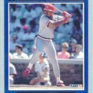 1992 Fleer Rookie Sensations # 17 Ray Lankford Cardinals