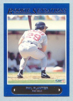 1992 Fleer Rookie Sensations # 19 Phil Plantier Red Sox