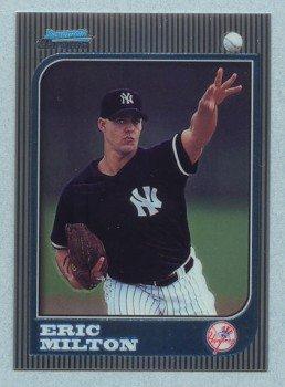 1997 Bowman Chrome # 157 Eric Milton RC Yankees