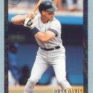 1993 Bowman # 342 -- Russ Davis Foil RC Yankees