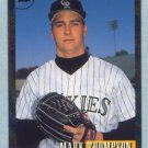 1993 Bowman # 350 Mark Thompson Foil Rockies