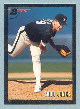 1993 Bowman # 352 Todd Jones Foil Astros