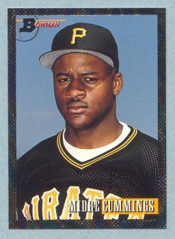 1993 Bowman # 357 Midre Cummings Foil Pirates