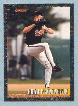 1993 Bowman # 361 Brad Pennington Foil Orioles