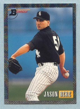 1993 Bowman # 364 Jason Bere Foil White Sox