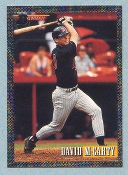 1993 Bowman # 369 David McCarty Foil Twins