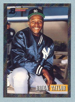 1993 Bowman # 370 Brien Taylor Foil Yankees