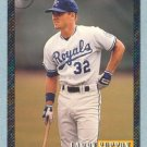 1993 Bowman # 697 Larry Sutton Foil RC Royals