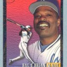 1993 Bowman Father - Son # 704 Hal and Brian McRae Foil Royals
