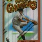 1996 Finest Refractors # B80 OZZIE GUILLEN White Sox