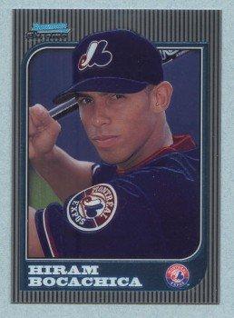 1997 Bowman Chrome # 171 Hiram Bocachica RC Expos