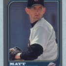 1997 Bowman Chrome # 190 Matt Clement RC Padres Rookie