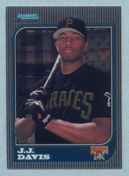 1997 Bowman Chrome # 297 JJ Davis RC Pirates Rookie