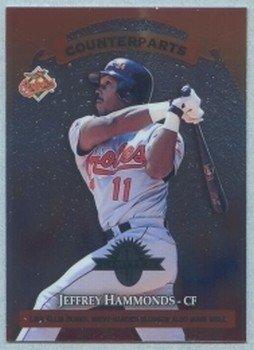 1997 Donruss Ltd Counterparts # 108 Jeffrey Hammonds -- Ellis Burks Orioles Rockies