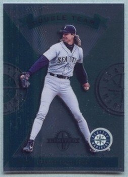 1997 Donruss Ltd Double Team # 120 Randy Johnson -- Edgar Martinez Mariners