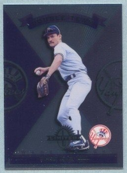 1997 Donruss Ltd Double Team # 125 Wade Boggs -- Paul O Neill HOF Yankees