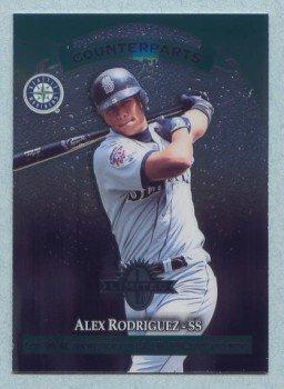 1997 Donruss Ltd Counterparts # 13 Alex Rodriguez -- Edgar Renteria