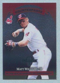 1997 Donruss Ltd Counterparts # 14 Matt Williams -- Vinny Castilla