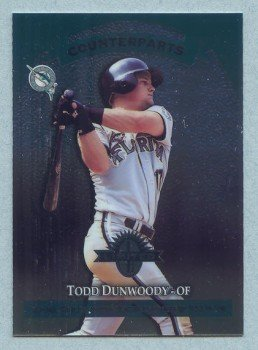 1997 Donruss Ltd Countparts # 174 Todd Dunwoody -- Brian Giles RC Rookie