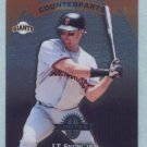 1997 Donruss Ltd Counterparts # 29 J T Snow -- Kevin Young SF Giants Pirates