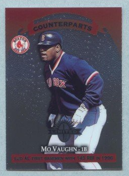 1997 Donruss Ltd Counterparts # 47 Mo Vaughn -- Cecil Fielder Red Sox Yankees