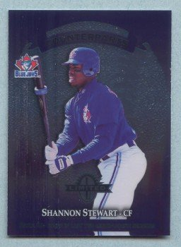 1997 Donruss Ltd Counterparts # 79 Shannon Stewart -- Bip Roberts Jays Royals