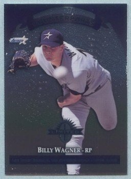 1997 Donruss Ltd Counterparts # 86 Billy Wagner -- Dennis Eckersley HOF Astros Cardinals