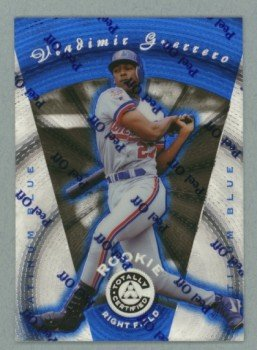 1997 Pinnacle Totally Certified Platinum Blue VLADIMIR GUERRERO #d 0896 of 1999