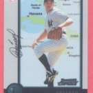1998 Bowman Chrome International # 221 Orlando Hernandez Yankees