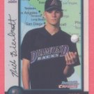1998 Bowman Chrome International Refractors # 74 Nick Bierbrodt