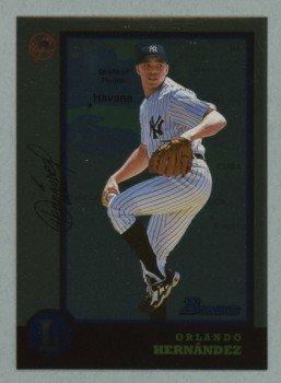 1998 Bowman International # 221 Orlando Hernandez RC White Sox Rookie