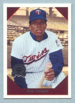 2000 Greats of the Game Retrospection # R1 Rod Carew HOF Twins Angels