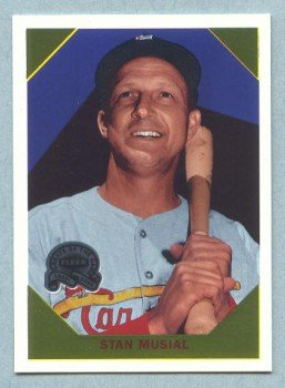 2000 Greats of the Game Retrospection # R2 Stan Musial HOF Cardinals