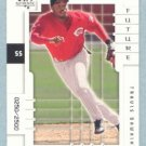 2000 SP Authentic Future Watch # 115 Travis Dawkins #d 0250 of 2500 Reds