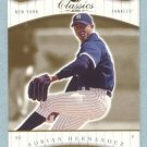 2001 Donruss Classics # 124 Adrian Hernandez SP RC #d 553 of 585 Rookie