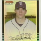 2002 Bowman Chrome Refractors # 343 CLIFF BARTOSH RC #d 111 of 500 Rookie Cubs