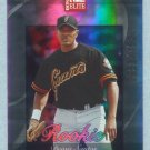 2002 Donruss Elite Rookie # 197 Deivis Santos RC #d 0933 of 1500 Rookie SF Giants