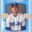 2002 Sweet Spot Beginnings # 124 Joe Orloski RC #d 0368 of 1300 Rookie Blue Jays