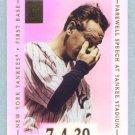 2002 Topps Tribute # 39 Lou Gehrig HOF Farewell Speech at Yankee Stadium 7-4-39