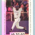 2002 Topps Tribute # 5 Joe Carter World Series Winning Home Run 10-23-93