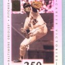 2002 Topps Tribute # 6 Jim Palmer HOF 250 Career Victories in 1982