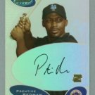 2003 Bowman's Best First Year Autograph # BB-PR Prentice Redman Auto RC Rookie
