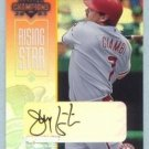 2003 Champions Autographs Rising Star # 196 Jeremy Giambi #d 122 of 195 Red Sox Auto