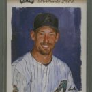 2003 Playoff Portraits Bronze # 2 Luis Gonzalez GU Jersey #d 052 of 100