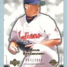 2003 Sweet Spot Beginnings # 166 Rafael Betancourt RC #d 0971 of 2003 Rookie